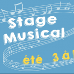 Stage musical d'été 2017
