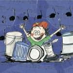 Stage de juillet à Tournai « Orchestre de percussions ». De 6 à 8 ans.