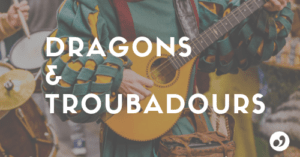 Dragons et troubadours couverture Facebook