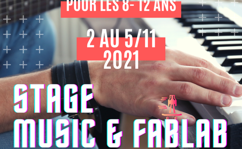 Stage Fablab 8-12 ans