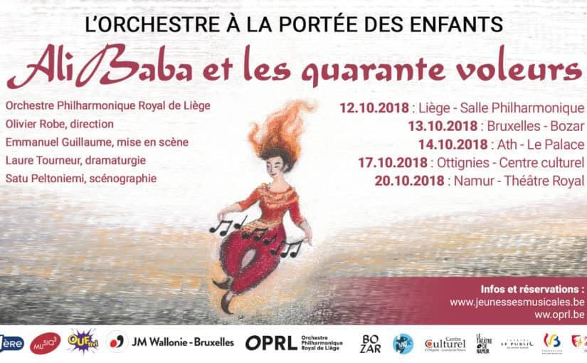 L'ORCHESTRE A LA PORTEE DES ENFANTS – ALI BABA & LES 40 VOLEURS
