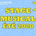 Stage d'été 2020