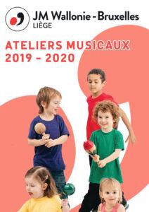 Couverture ateliers musicaux 2019 - 2020