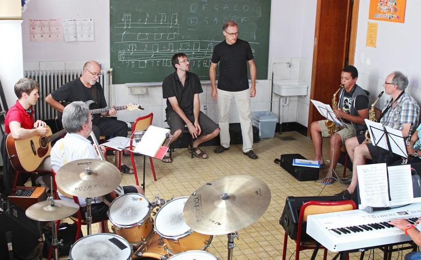Stage résidentiel de Jazz en Gaume (5-11 août 2018)