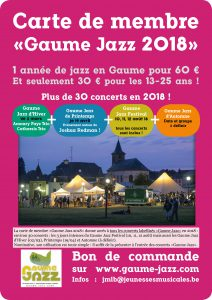 CarteMembreGaumeJazzPromo