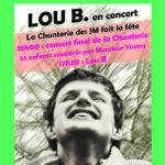 La Chanterie des JMLB en fête suivi de Lou B. – 10 juin 2019 – 16h00