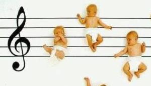 bébé musique