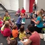 Atelier parents/enfants avec le CC de Péruwelz