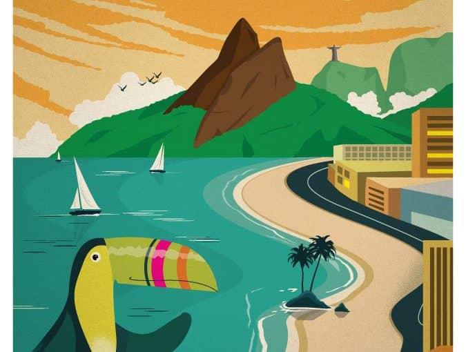 """Stage d'août """"Voyageons au Brésil"""""""