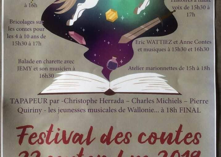 Festival des Contes à La Ferme des Saules